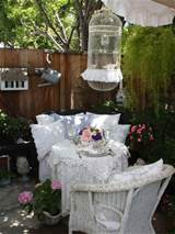 shabby chic outdoor furniture shabby chic decorating my love of style