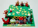 Night Garden Cake Ideas and Designs