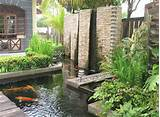 ... Gardening: Outdoor Home Garden Water Feature Ideas For The Back Yard