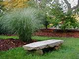 rustic stone garden bench this stone bench has been constructed by