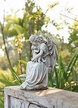 holding baby garden statue accent your garden or beautiful memorial
