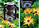 garden junk DIY salvaged rust garden art outdoors gardening decorating ...