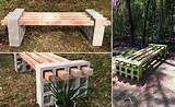 simple diy outdoor bench idea icreatived
