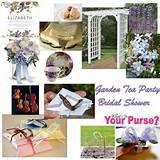 Garden Tea Party Bridal Shower | Wedding Ideas | Pinterest