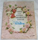 cake food decorating ideas by wilton 1964 softcover