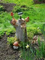 25 Ideas to Recycle Tree Stumps for Garden Art and Yard Decorations ...