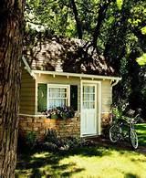 planter box green shutters garden shed yard ideas guest house