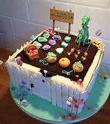 veggie vegetable garden birthday cake vegetables garden