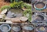 DIY Tractor Tire Garden Pond | DIY Cozy Home