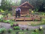 ... Garden Progress Php Building A Pond With Stilted Deck Pete Sims Garden