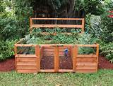 vegetable garden fence ideas in decorating wood fence