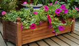Wood Planter Boxes, Planting Beds, Garden Planters - Huayi Garden ...