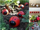 and enjoy making these cute golf ball ladybugs with your kids