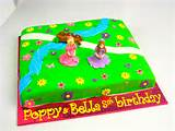 cakes girls birthday cakes cake sisters custom cake designs