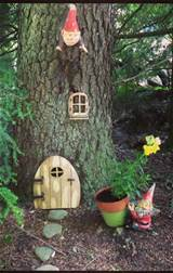 gnome garden yard and landscape ideas pinterest