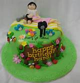 garden birthday cake garden idea