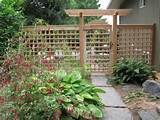 ... wooden garden unique trellis ideas wooden garden unique trellis ideas