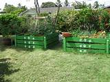 Pallet raised planters | Garden Ideas | Pinterest