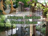 ... gate ideas. This would surely make your garden stand out among the