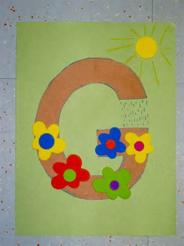 momstown hamilton preschool alphabet crafts g is for garden