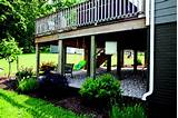 ... deck | landscaping and stones under/around deck idea | deck ideas