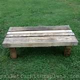 15 diy outdoor pallet bench craft ideas pinterest