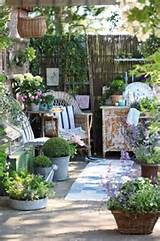 ideas shabby chic gardens gardens spaces outdoor room small gardens ...