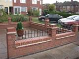 brick garden wall designs cdxnd com home design in pictures