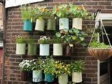 if your acre of land is actually a wall try hanging pots empty