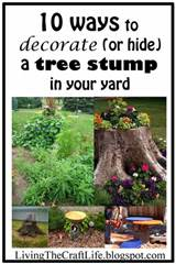 Tree Stump Decorating Ideas | Modern World Decorating Ideas
