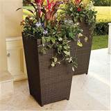 Planter - Large - Frontgate - Contemporary - Outdoor Pots And Planters ...