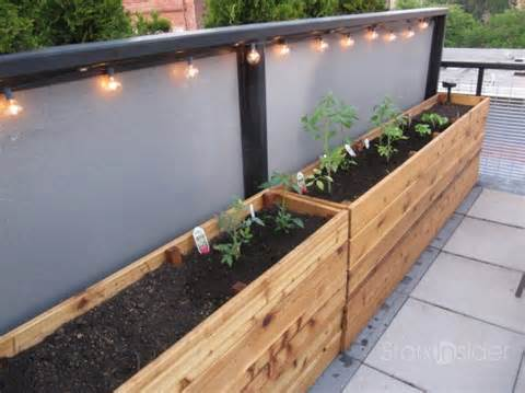 Build a Vegetable Planter Box with these Plans