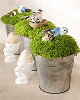 Irish Moss Centerpiece & Video | Martha Stewart