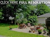 free pictures of backyard landscaping ideas
