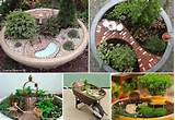 fairy garden ideas outdoor ideas garden pinterest
