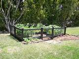 Simple Garden Fence Ideas: small vegetable garden design, garden ...