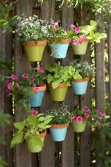 ... can easily spice up it. You can make a colorful vertical garden of it