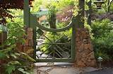 garden gate fit for a gardener fine gardening