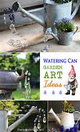 Watering Can Garden Art Ideas - Empress of Dirt