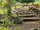stairs and landscaping steps on slope natural landscaping ideas