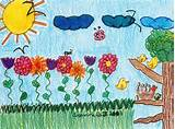 garden elementary school art ideas pinterest