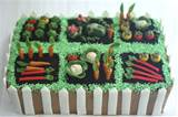 vegetable garden cake | Gardening cake ideas | Pinterest