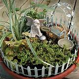 details about new fairy container garden accessory kit set yard
