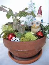 of fairy creating fairy gardens for more ideas on dish outdoor gardens ...