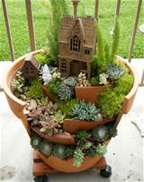 plant pot ideas even broken garden pots can be used to create