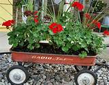 gardening ideas planter vintage wagon fall ideas rustic, container ...