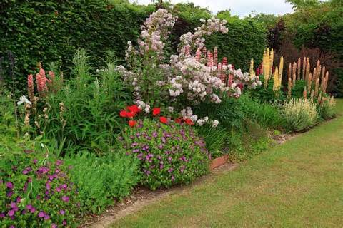 Flower Garden Border Ideas: 17 Wonderful Garden Borders Ideas Photo ...