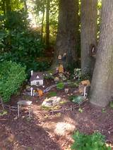 fairy garden like the water stream idea fairy garden pinterest