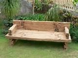 panchine in legno - mobili giardino