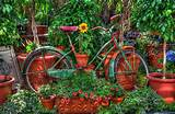 Upcycling Bikes in the Garden – 14 Ideas for Bicycle Planters